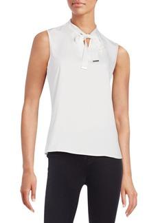Calvin Klein Front Slash Tie Shirt