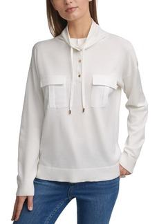 Calvin Klein Funnel-Neck Sweater