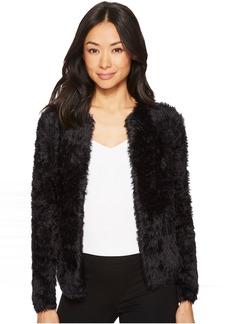 Calvin Klein Furry Open Cardigan