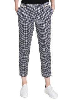 Calvin Klein Gingham Straight Pants