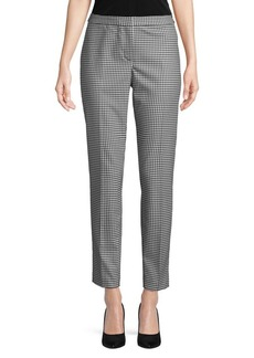 Calvin Klein Gingham Tapered Pants