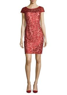 Calvin Klein Glamour Sheath Dress
