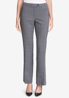 Calvin Klein Glen Plaid Modern Pants, Regular & Petite