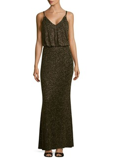 Calvin Klein Glitter Blouson Dress