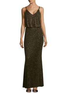 Calvin Klein Glitter Blouson Dress