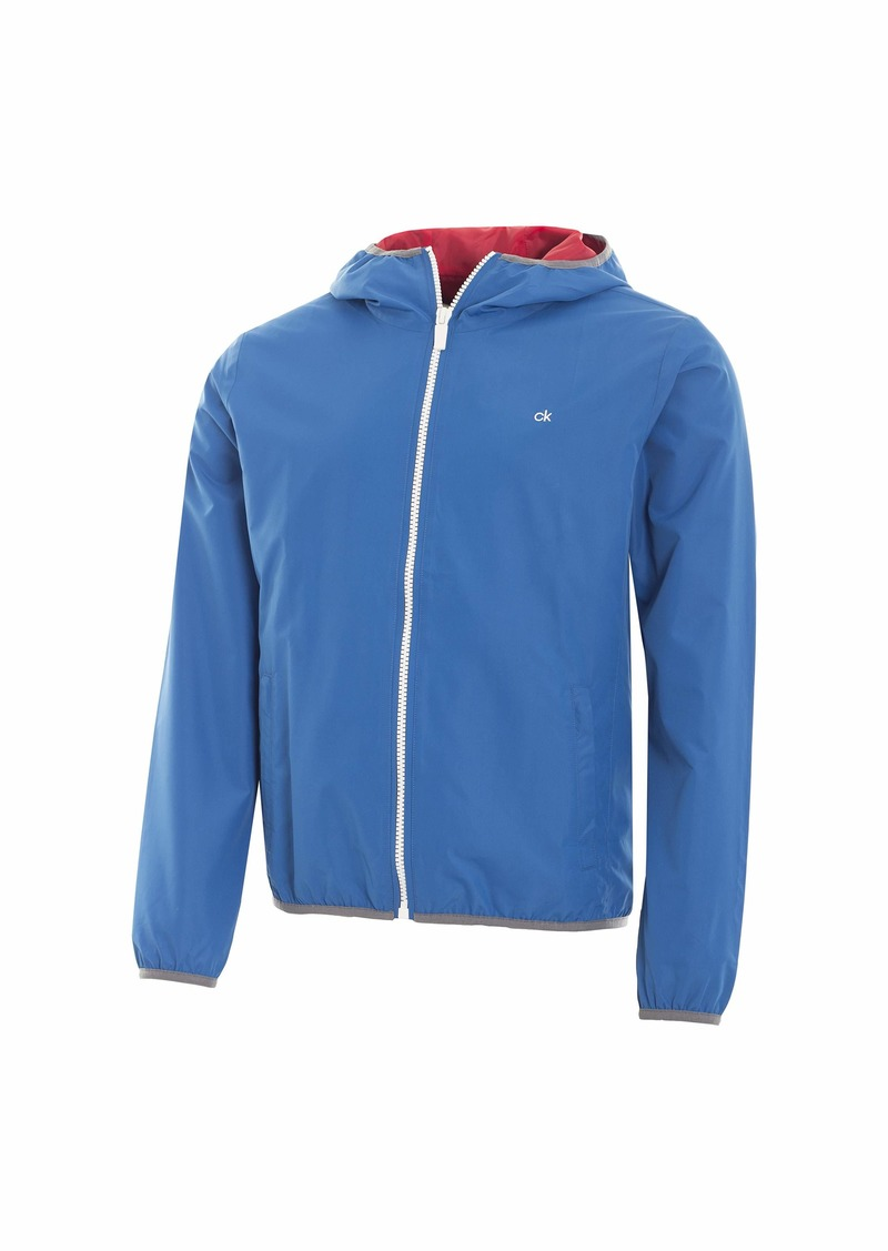 Calvin Klein Golf Men's 365 Hooded Jacket  arge