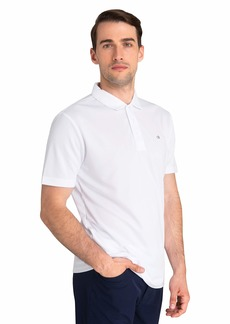 Calvin Klein Golf Men's Avenue Shirt Dry Fit and Lightweight Golf Polo