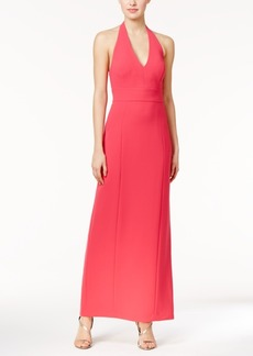 Calvin Klein Halter Gown