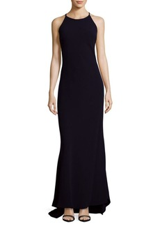 Calvin Klein Halter Mermaid Dress