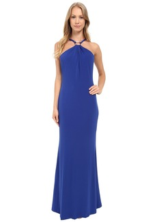 Calvin Klein Halter Neck Maxi Dress CD5A1H4C