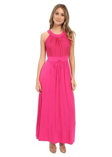 Calvin Klein Halter Neck Maxi Dress CD6N24Z8