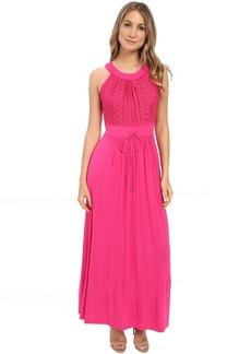 Calvin Klein Halter Neck Maxi Dress CD6N24Z8