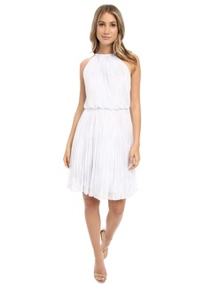 Calvin Klein Halter Neck Pleated Dress CD6B1U3P