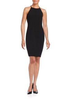 Calvin Klein Halter Sheath Dress