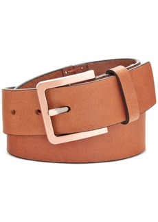 Calvin Klein Hand-Stitch Lace-Up Leather Belt