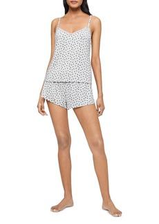 Calvin Klein Heart Print Cami & Shorts Pajama Set