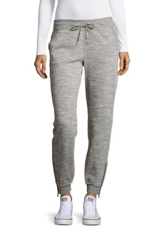 Calvin Klein Heathered Cropped Jogger Pants