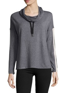 Calvin Klein Heathered Hooded Top