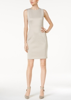 Calvin Klein Heathered Sheath Dress