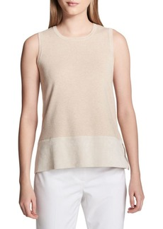 Calvin Klein Heathered Sleeveless Sweater