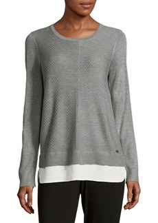 Calvin Klein Heathered Sweatshirt