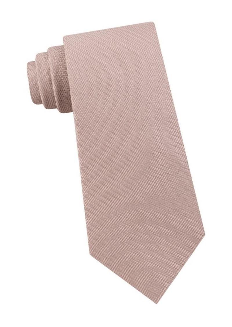 Calvin Klein Herringbone Silk Tie