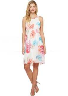 Calvin Klein High-Low Chiffon Dress CD7H234V