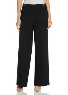 Calvin Klein High Waist Wide Leg Pants