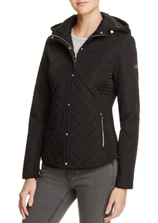 Calvin Klein Hooded & Quilted Jacket