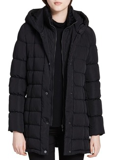 Calvin Klein Hooded Down Coat