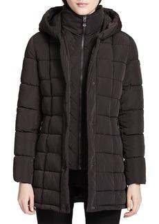 Calvin Klein Hooded Down Coat