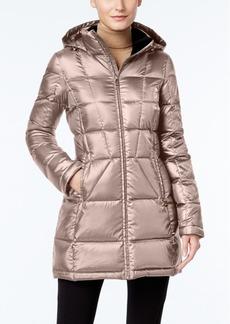 Calvin Klein Hooded Packable Down Puffer Coat