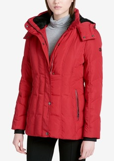 Calvin Klein Hooded Puffer Coat