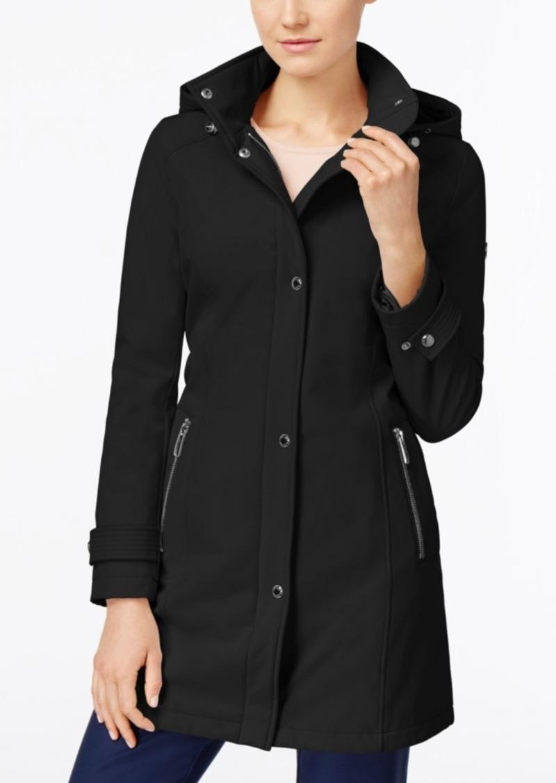 0c45752e1230 Calvin Klein Calvin Klein Hooded Softshell Raincoat, Created for Macy's