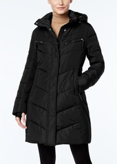 Calvin Klein Hooded Water-Resistant Puffer Coat