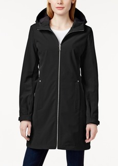 Calvin Klein Hooded Water-Resistant Softshell Jacket