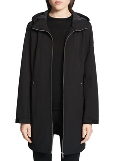 Calvin Klein Hooded Zip-Front Jacket