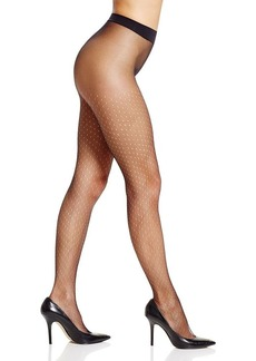 Calvin Klein Hosiery Open Dot Tulle Sheer Tights