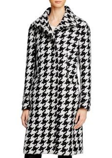 Calvin Klein Houndstooth Coat