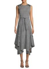 Calvin Klein Houndstooth Midi Dress