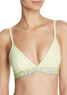 Calvin Klein ID Cotton Triangle Bralette