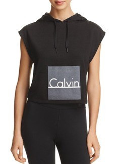 Calvin Klein ID Cropped Hoodie