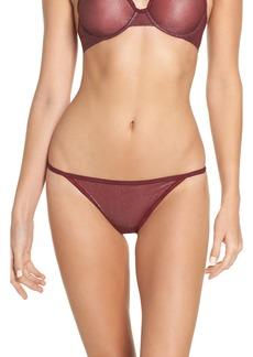 Calvin Klein ID Sheer Marquisette String Bikini