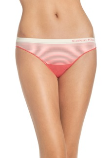 Calvin Klein 'Illusion' Seamless Bikini Briefs