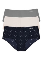 Calvin Klein Invisibles Hipsters, Set of 3