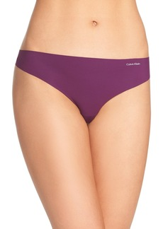 Calvin Klein 'Invisibles' Thong (3 for $30)