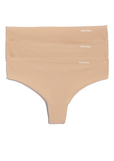 Calvin Klein 'Invisibles' Thong (3-Pack)
