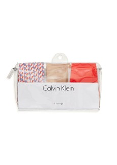 Calvin Klein Invisibles Thongs, Set of 3