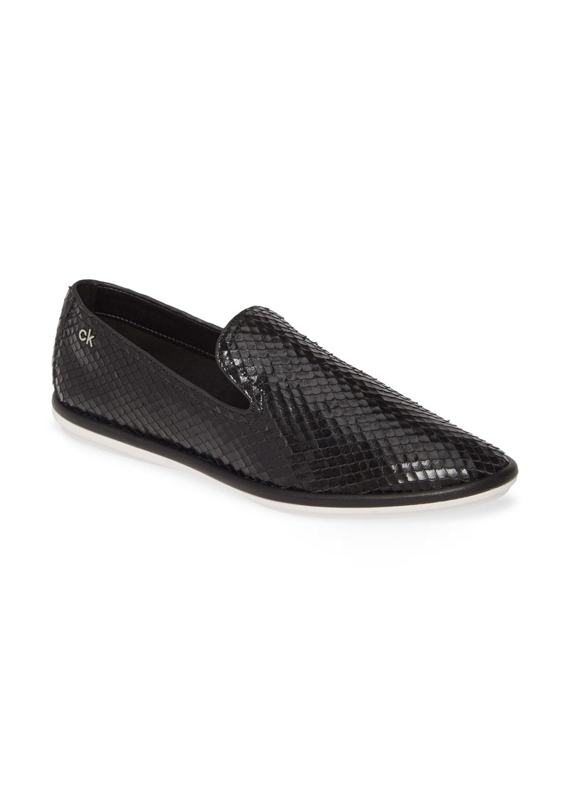 Calvin Klein Issa Armatura Embossed Loafer (Women)