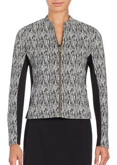 Calvin Klein Jacquard Knit Jacket
